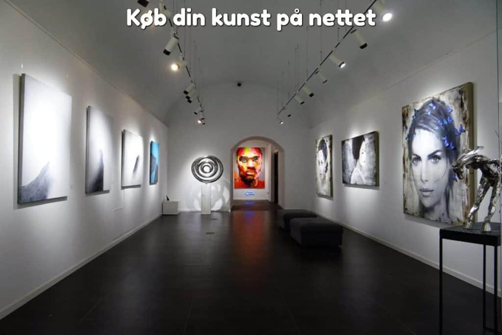 Køb din kunst på nettet