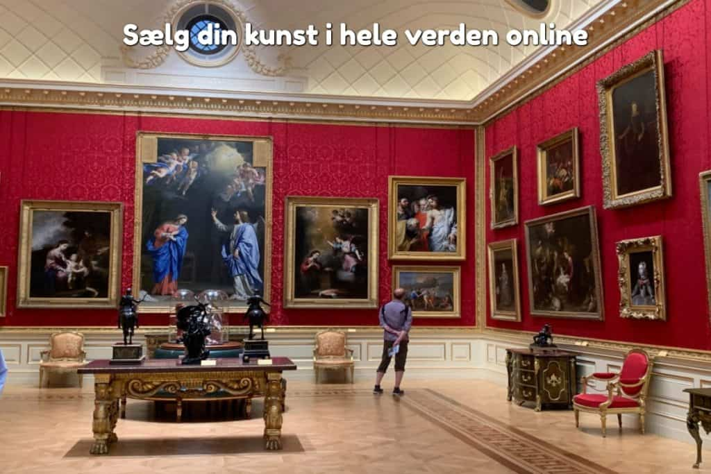 Sælg din kunst i hele verden online